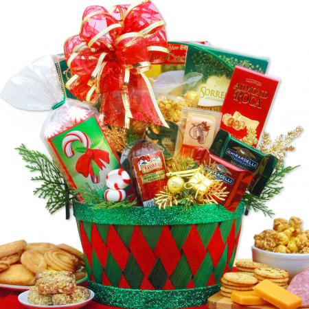 holiday affair Christmas gift basket