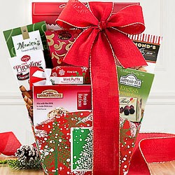 Holiday Cocoa Gift Baskets
