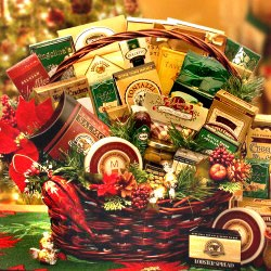 Holiday Grand Gathering Gift Basket