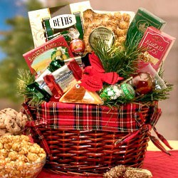 Old Fashion Christmas Basket