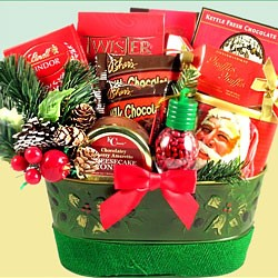 Christmas Surprise Gift Basket