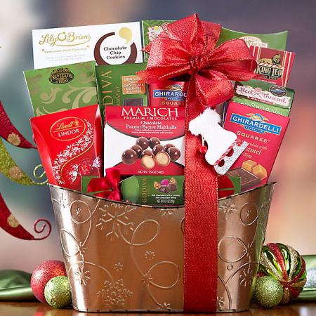 Chocolate Christmas Basket