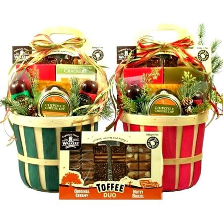 Festive Christmas Favorites Gift Basket