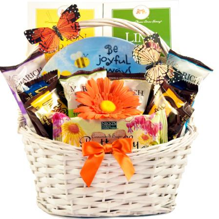 joy and inspiration gift basket