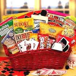 Kids Entertainment Gift Basket