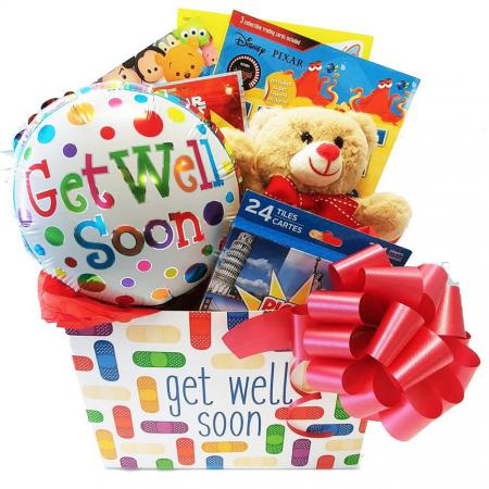 get well basket for girls and boys