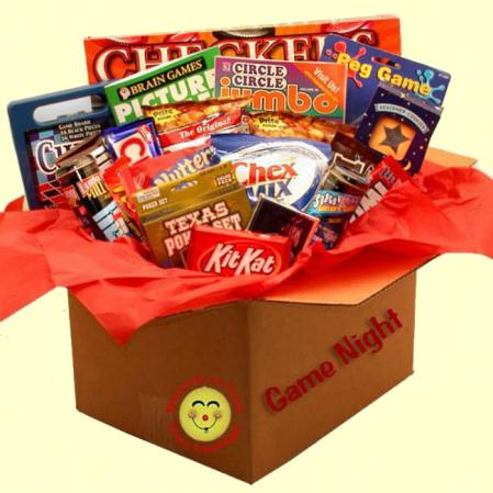 Family Game Night Gift Box