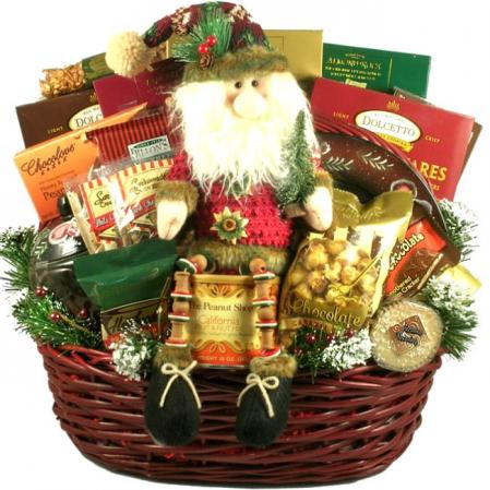 Large Holiday Gift Deck The Halls