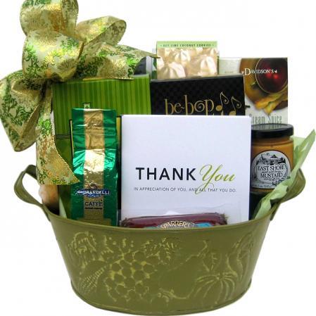 Send Thank You Gift Basket