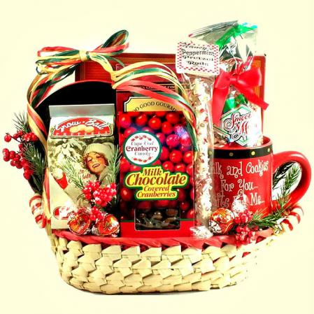 Good Tidings of Joy Holiday Gift Basket