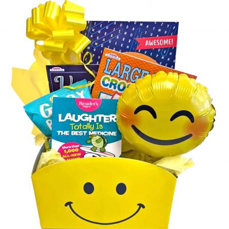 laughter get well gift basket