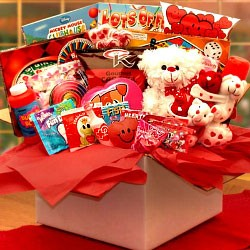 Kids Fun Valentine Care Package