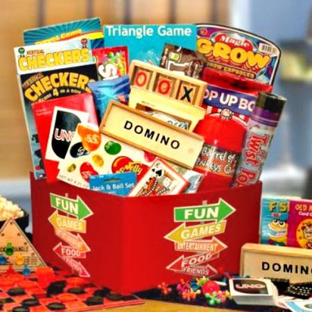 Much Fun and Many Games Gift Box