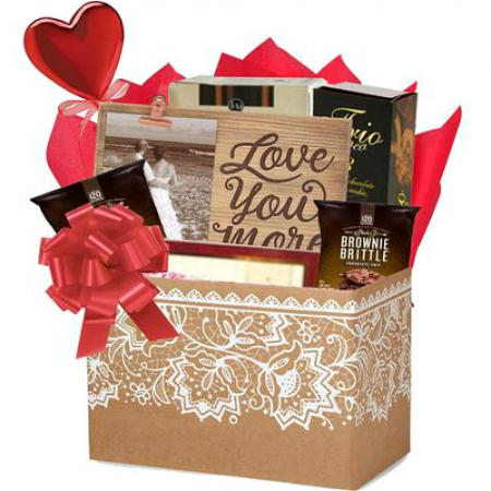 I love you more gift basket