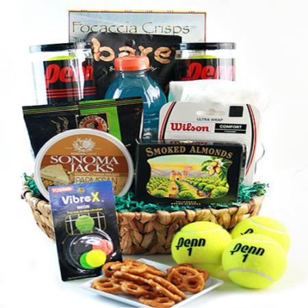 tennis gift basket