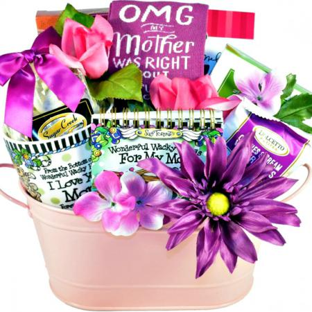 waky mom gift basket