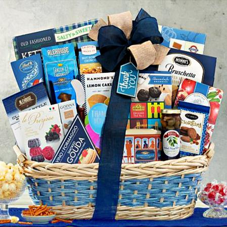 Many Thanks Gourmet Thank You Gift Basket