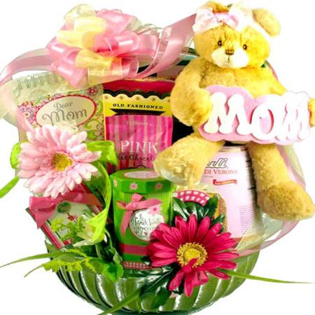 Mom of the Year Gift Basket