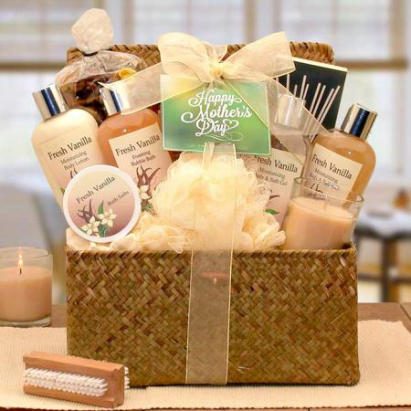 Relaxing French Vanilla Mother's Day Gift Chest