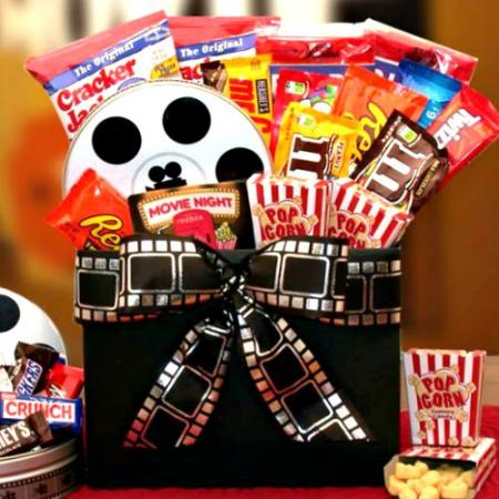 Movie Fest Gift Box Plus $10.00 RedBox Card