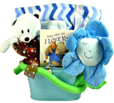 BABY SNUGGLE UP GIFT BASKET