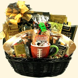 Football Party Gift Basket
