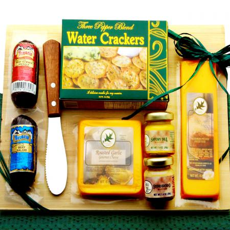 cheese and sausage gift board
