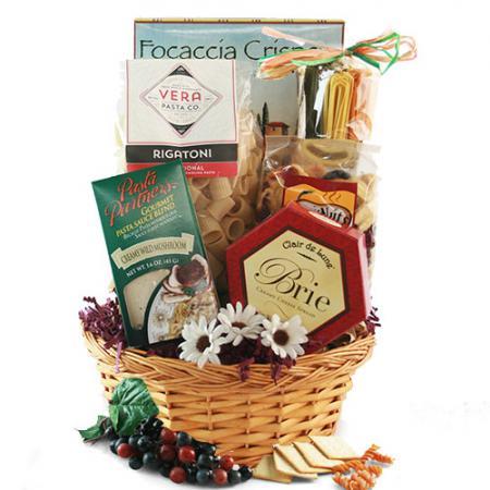 Pasta Gift Basket Italian