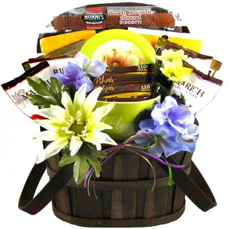 Peace and Prayers Be With You Gift Basket
