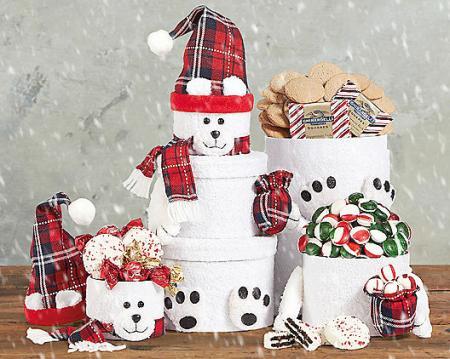 Polar Bear Gift Tower