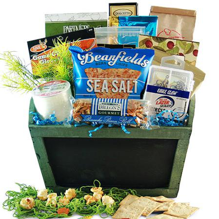 rather be fishing gift basket