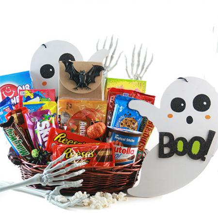 halloween sweets spooky gift basket