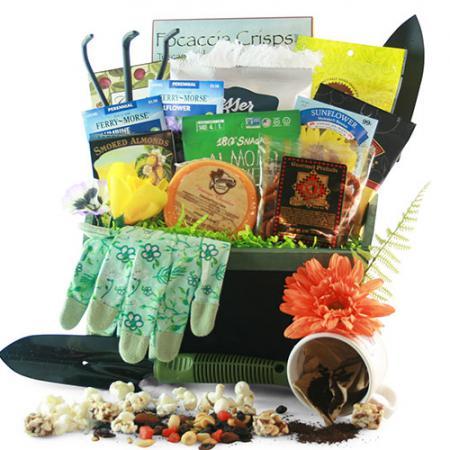 beautiful garden gift baskets