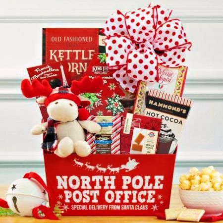 santas sweets gift basket