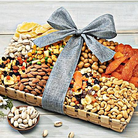 dried fruit and nut gift