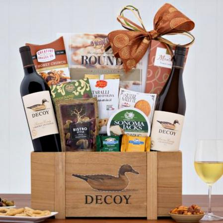 Duckhorn wine basket
