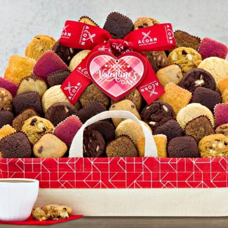 VALENTINE COOKIES AND BROWNIES