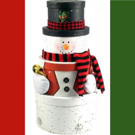 Mr. Shivers, Snowman Gift Tower