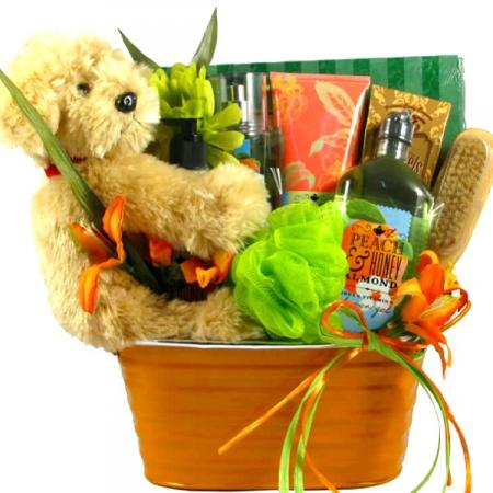 Beautiful Scent Spa Basket