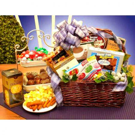 Sugar-free-snack-basket