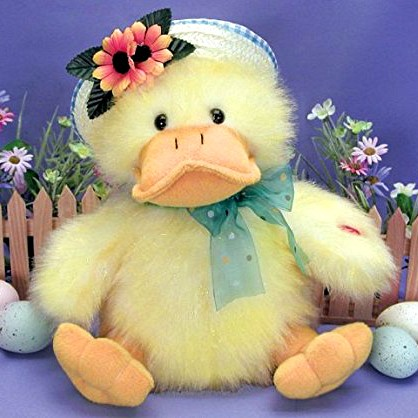 The Singing Easter Duck