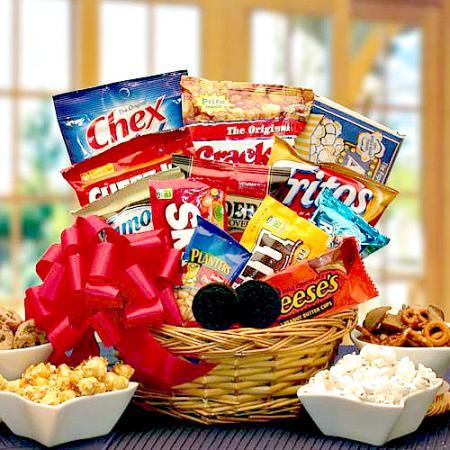 snack sampler gifts baskets