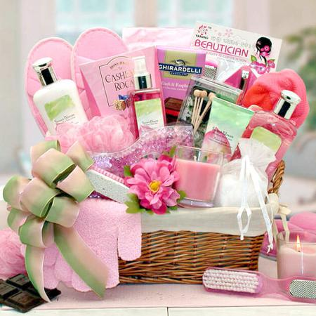 Summer-spa-gift-basket