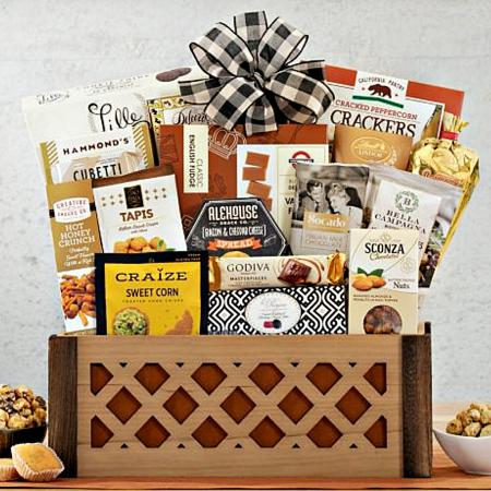 SWEET-SAVORY GIFT CRATE