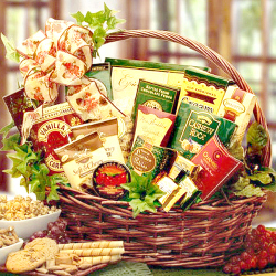 Gourmet Sweets and Treats Gift Basket
