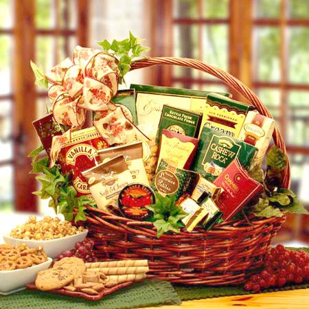 Gourmet Sweets Gift Basket