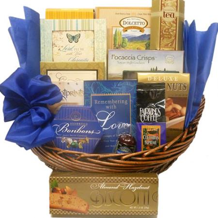 Expressions of Sorrow Sympathy Basket