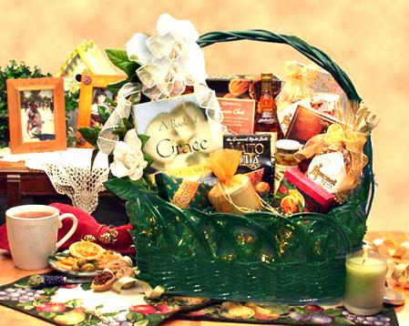 A Measure of Grace, Sympathy Gift Basket