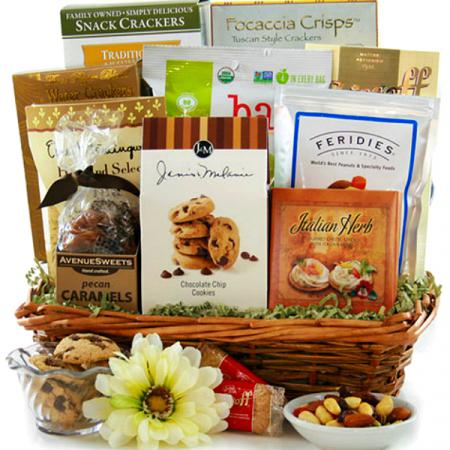 Thoughts and Prayers Sympathy Basket