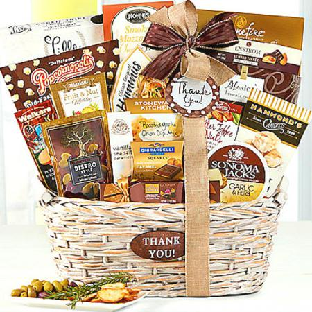 Basket of Thank Yous